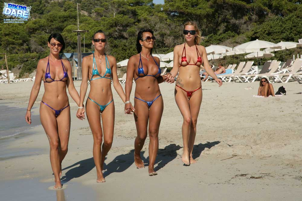 Bikini dare take the free tour
