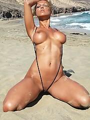 Daring bikini babes